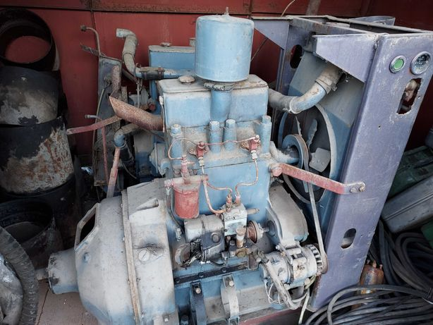 Silnik S trzy cylindrowy lub dwu cylindrowy do ciągnika rolniczego