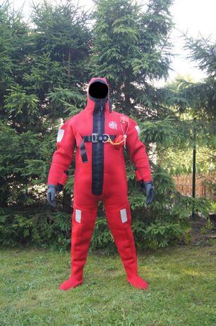 Morski kombinezon ratunkowy wypornościowy, immersion suit