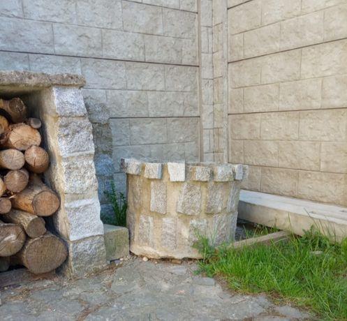 Donice granitowe ogrodowe