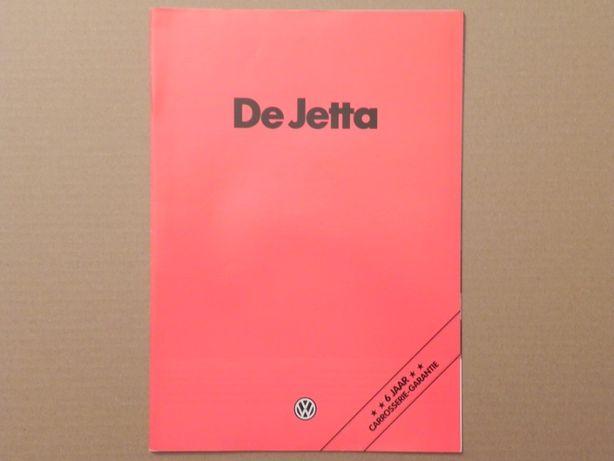 Prospekt - VOLKSWAGEN VW JETTA I - 1980 r
