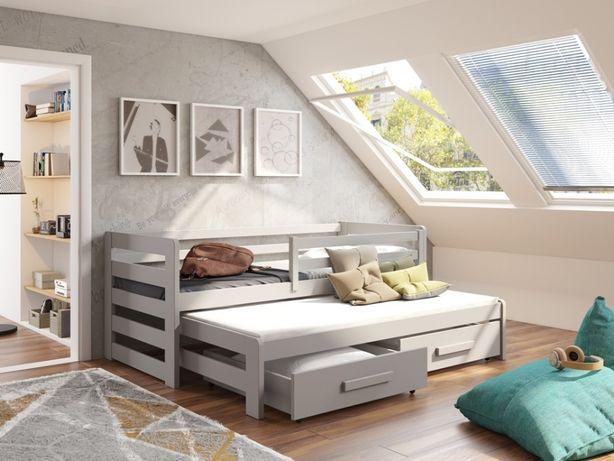 Łóżeczko dwuosobowe dla dzieci dostępne w wielu kolorach do wyboru