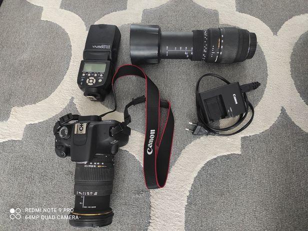 Canon 1200d komplet plus dodatki