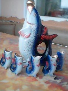 """Фарфоровый набор ,,Рыбки"""""""