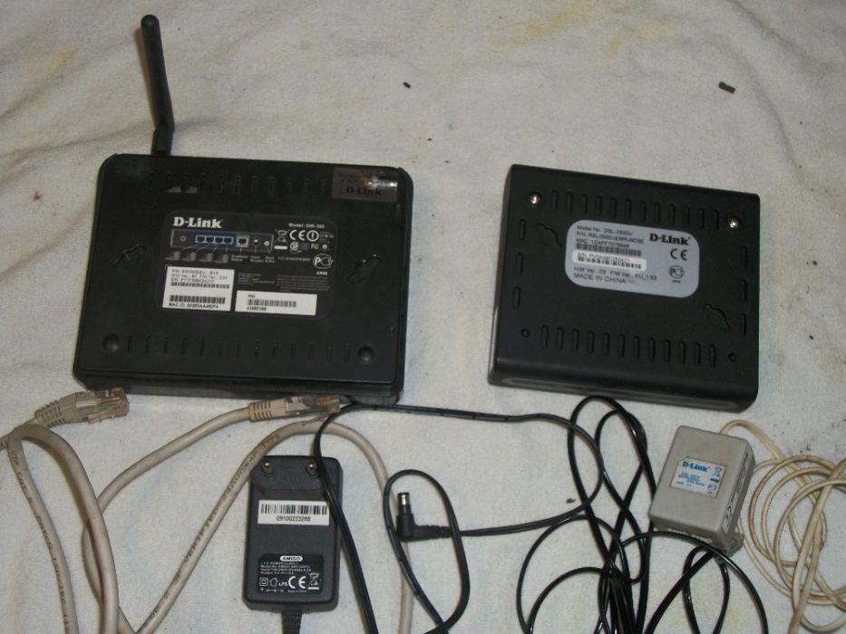 Маршрутизатор (роутер) D-Link модель DIR-300 и DSL-2500U Александрия - изображение 1