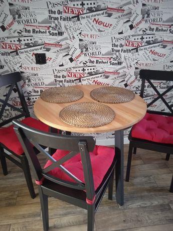 Stół i 3 krzesła