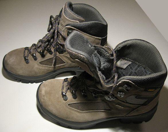 Buty damskie, trekkingowe Tecnica Rubbermac Gore-Tex, skóra. Stan BDB.
