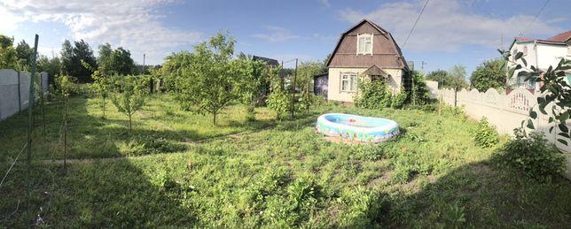 Продам дачный дом и землю (6 соток ) возле озера и леса