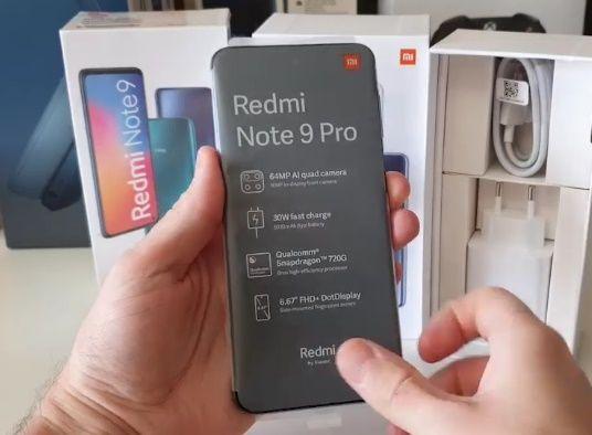 Смартфон Xiaomi Redmi Note 9Pro, NFC мод.(диспл.6.67″, 6Гб/128Гб, нов