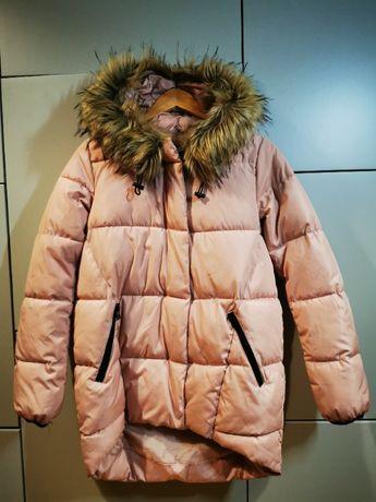 Świetna zimowa kurta HOUSE r. S, stan idealny
