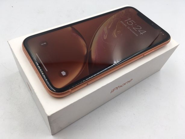 iPhone XR 64GB CORAL • PROMOCJA • GWARANCJA 1 MSC • AppleCentrum