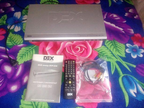 """DVD плеер """"DEX"""" DVP-538"""