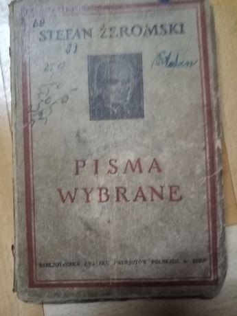 Pisma Wybrane, Stefan Żeromski, z 1944 roku