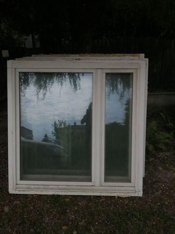 Okno drewniane bezsłupkowe