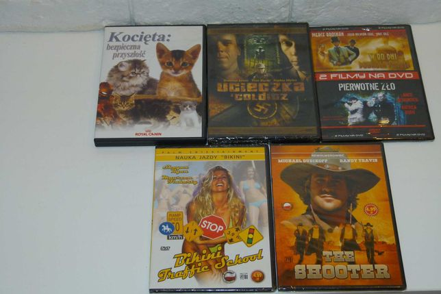[REZERWACJA] 5 nowych filmów DVD + gratis