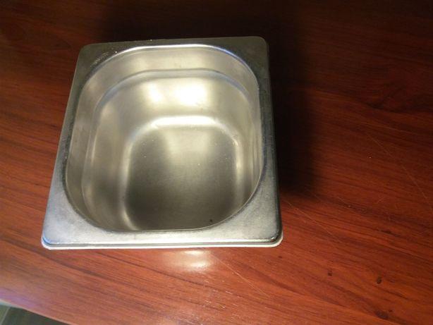 Cuvetes aço inox (vários conjuntos) - Gastronorm - tamanho 1/6