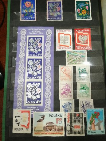 Znaczki pocztowe bez pieczątek