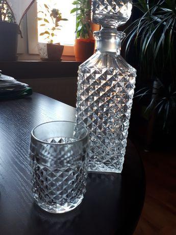 Karafka + szklanki szt 12+ kieliszki 5 szt.
