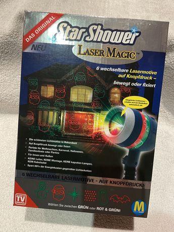 Projektor na dom star shower laser magic