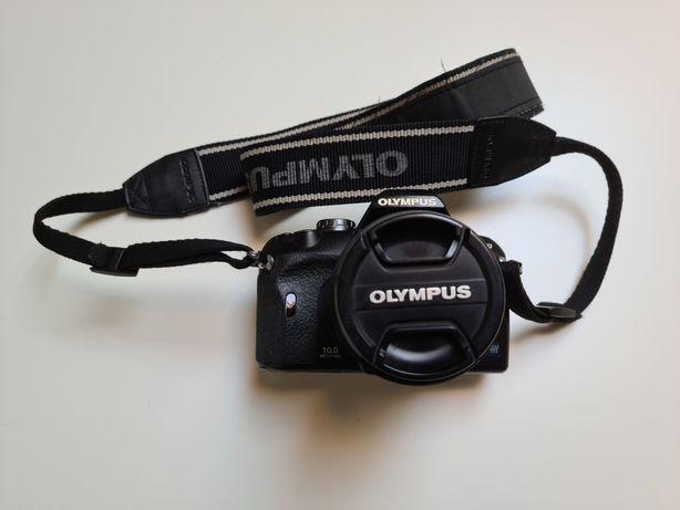 Olympus e-410 torba obiektyw 14-42mm 70-300mm ładowarka karta 16gb
