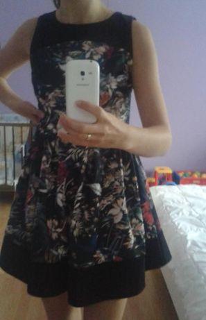 NOWA Sukienka w kwiaty rozmiar 38 M