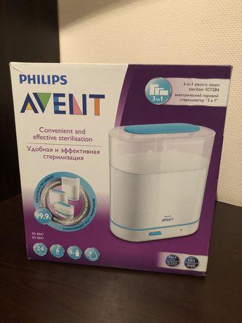 Электрический паровой стерилизатор Philips Avent (Филипс Авент) 3 в 1