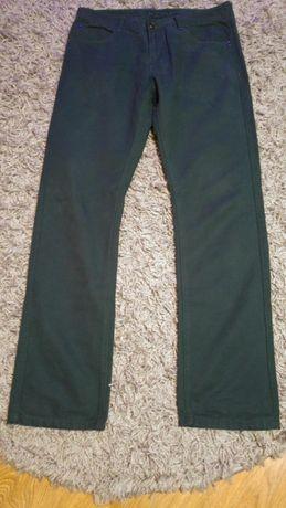 Spodnie Meskie Zielone rozmiar 36