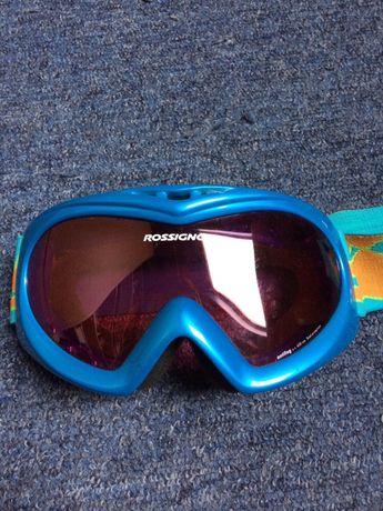 Gogle narciarskie dziecięce