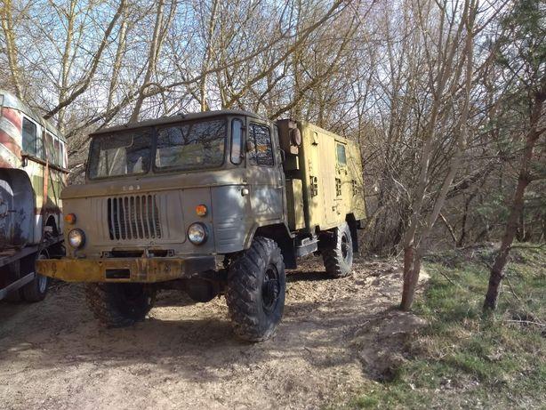 Gaz 66 Kolekcjonerski  V8 4x4 Wojskowy Zabytek  camper NOWA CENA !!!