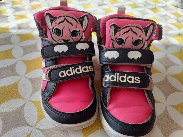Buty dla dziewczynki addidas rozmiar 22