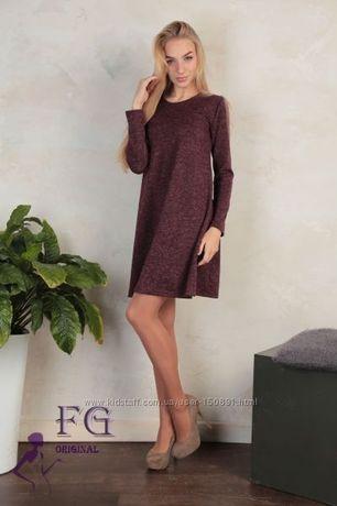 Женское платье из ангоры софт