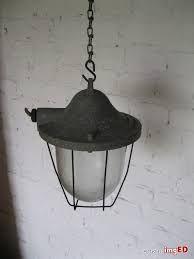 Lampa Loft Industrialna lampa ścienna vintage retro - czasy PRL-u.