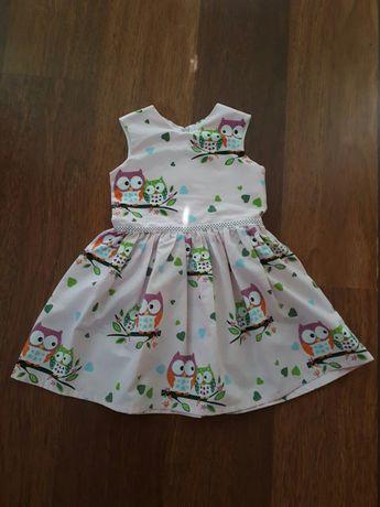 Платье летнее совушки