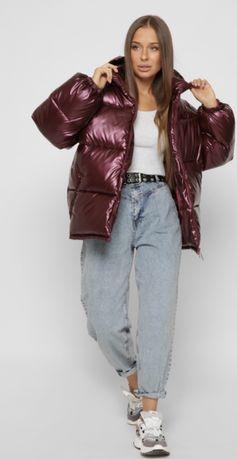 Фирменная зимняя куртка ( эко- пух)