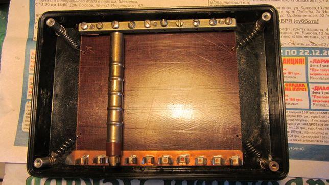 Кассета для 10 счётчиков Гейгера типа СБМ-20, для дозиметров.