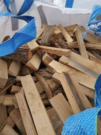 Drewno opałowe, suche, twarde, pocięte,