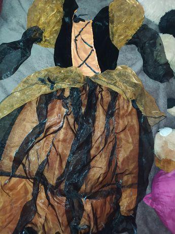 Платье ведьмочки 128-134