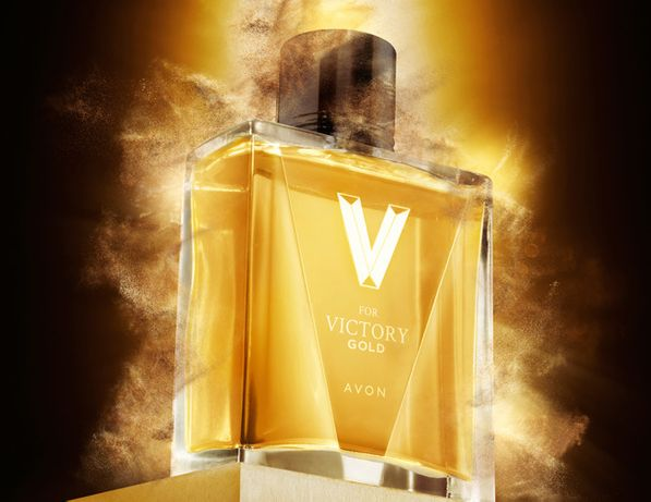 Woda toaletowa V for Victory Gold