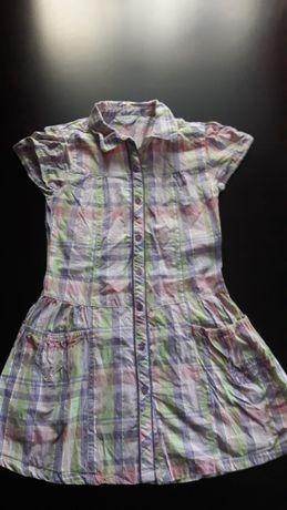 Letnia sukienka dla dziewczynki w rozmiarze 146