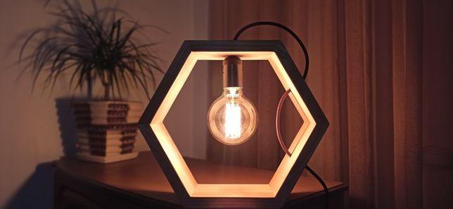 Loft светильник из дерева. Ручной работы.