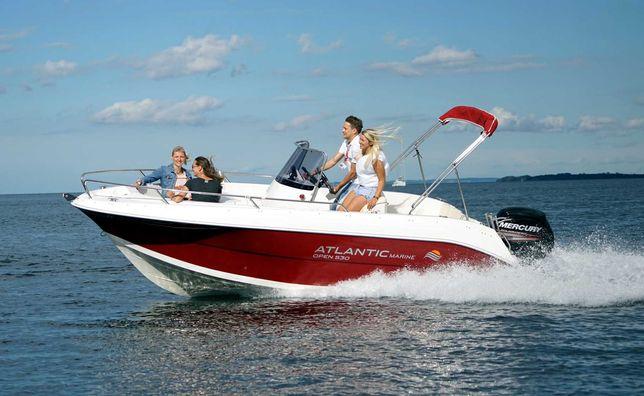 Nowa łódź motorowa Atlantic Marine 530_100 KM