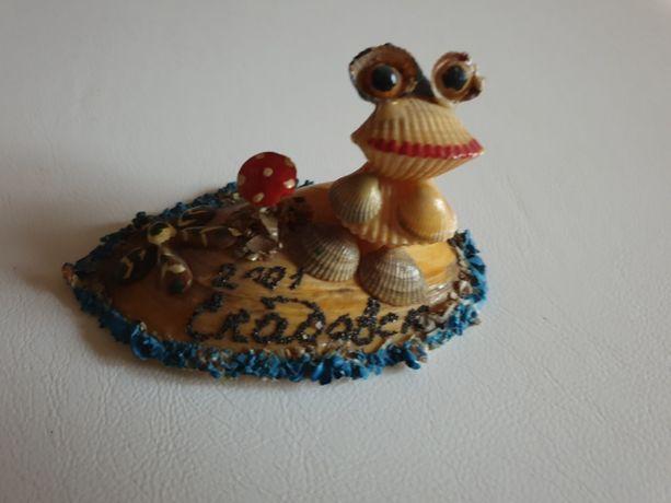 Сувенир ракушка Лягушка