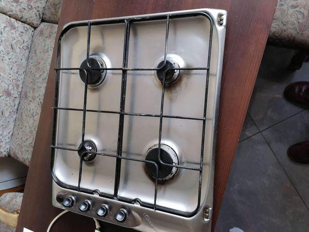 Płyta gazowa, kuchnia inox