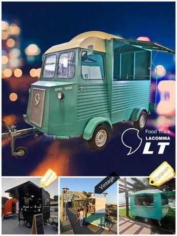 Food Trucks, roulote estilo próprio, preço mais competitivo da Europa!