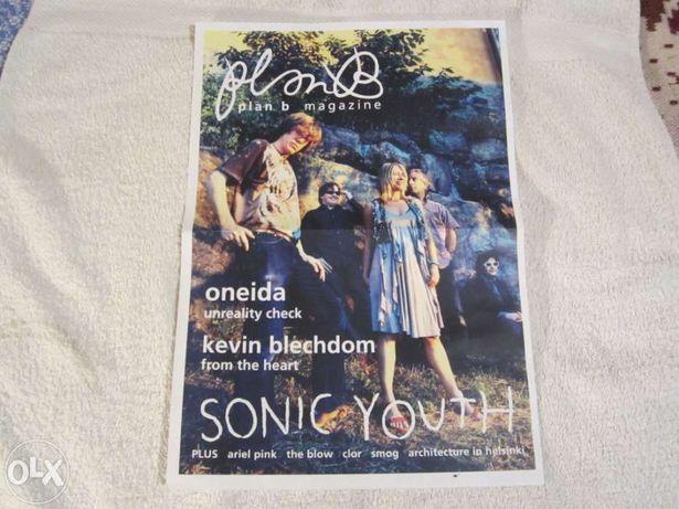 Sonic Youth Poster 2005 Plan B Magazine número 7
