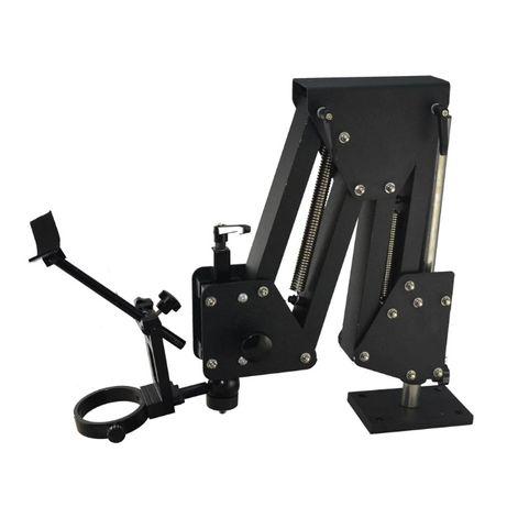 Штатив для микроскопа держатель крамальера стенд поворотный ювелирный