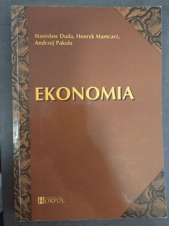 Ekonomia- S. Duda, H. Mamcarz, A. Pakuła