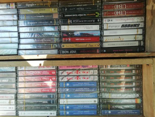 Новые лицензионные кассеты зарубежных исполнителей