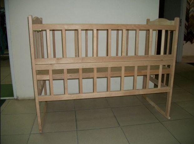 Продаю новую детскую кроватку КФ-3 (откидная боковушка)