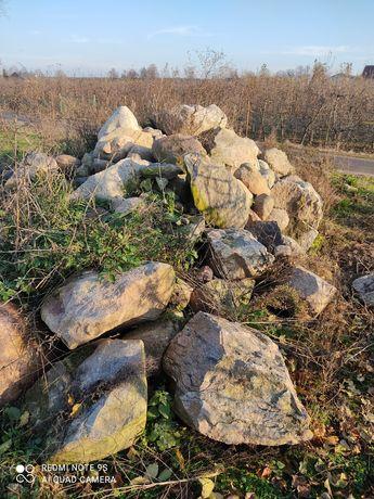 Kamienie polne  głazy do ogrodu oddam