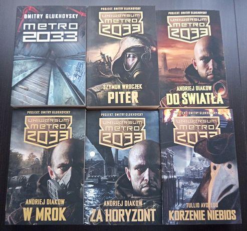 Metro 2033, zestaw 6 szt. książek